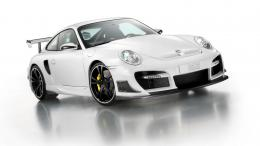 wallpapers, white, street, techart, porsche, desktop, wallpaper 815