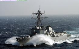 US Navy Arleigh Burke Class Guided Missile Destroyer wallpaper 948