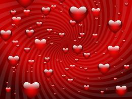 Red Valentine Hearts wallpaper free wallpaper 277