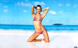 Download wallpaper Alessandra AmbrosioVictoria\'s Secret Swim 2011: 1989