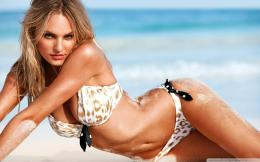 Download Candice Swanepoel Victoria\'s Secret Model wallpaper 325