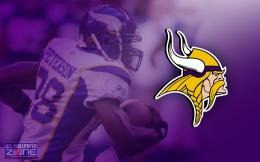 Minnesota Vikings American Football Team Logo Wallpaper 850