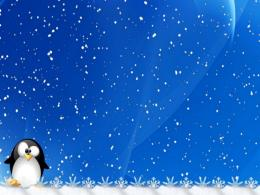 Winter Wallpaper Linux Tux Background Holiday iPhone Wallpapers and 191