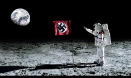Wolfenstein The flag on the moon wallpapers and images 917
