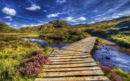 Image: Wooden Bridge Nine wallpapers and stock photos 1361