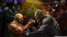 Bane vs Venom? No my friend, this is DC vs MarvelWho are you rooting 1539