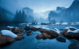2560x1600 Yosemite National Park Winter desktop PC and Mac wallpaper 850