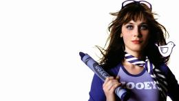 Zooey Deschanel WideScreen Wallpapers 432
