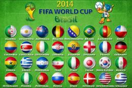 Countries participating World Cup in Brazil 2014 wallpapers and images 677