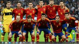Spain National Football Team Fifa World Cup 2014 Theme For Windows 7 1406