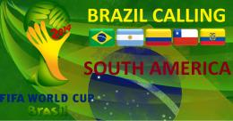 2014 FIFA World Cup Teams South America by italianvolcano 1806