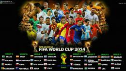 FIFA World Cup 2014 Schedule Wallpaper HD 1612