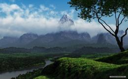 Free Nature wallpaper3D Landscape desktop 2 wallpaper1280x800 493