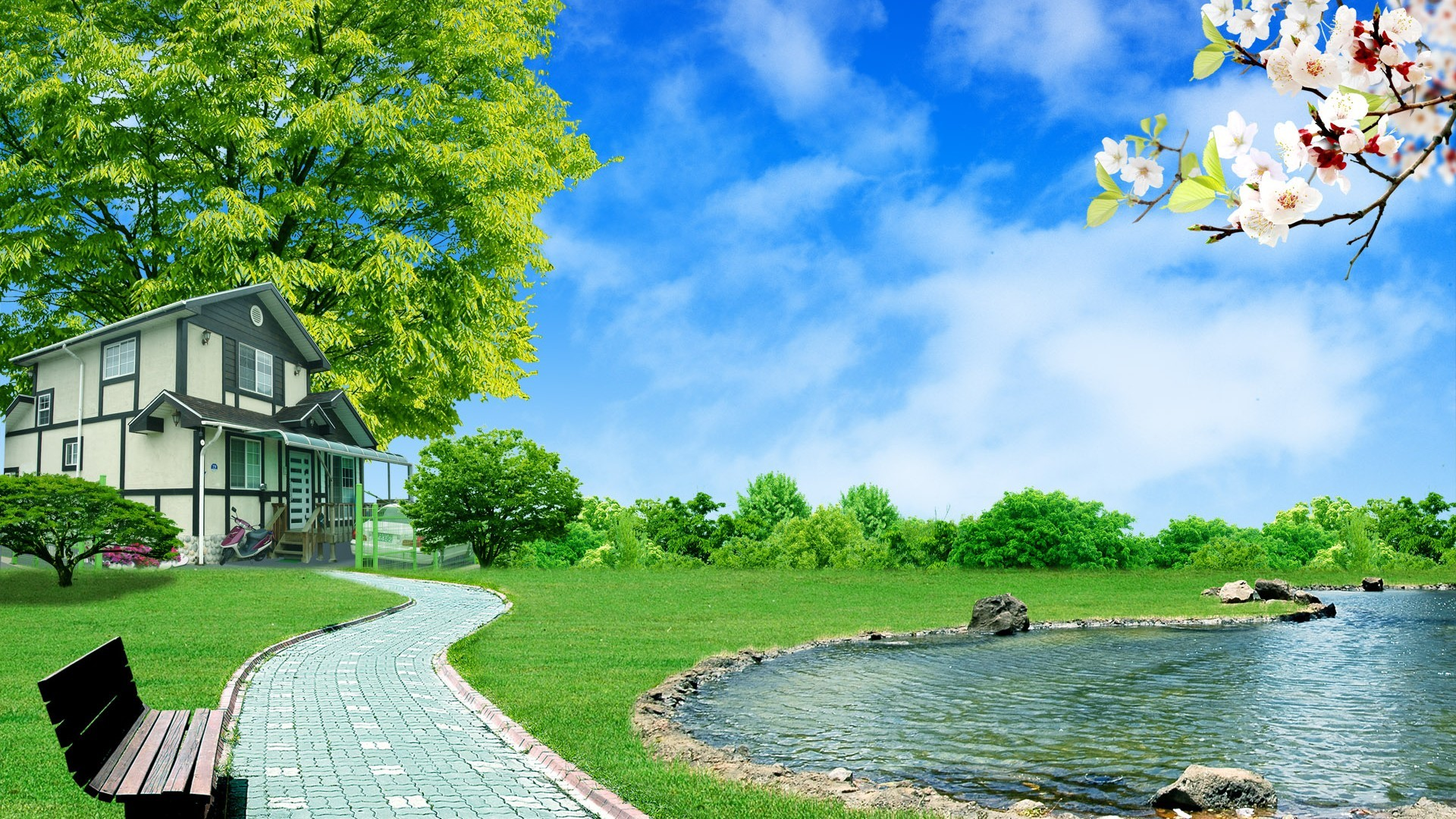 File Name : 3d Nature Hd Wallpapers 517