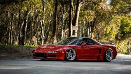 car, wallpapers, acura, nsx, jdm, tuning, red, automobile, desktop 1518