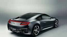 2013 Acura NSX Concept Rear Angle desktop PC and Mac wallpaper 338
