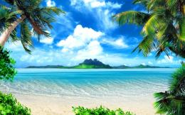 Perfect Tropical Beach WallpaperWallpaper Pin it 1606