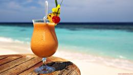 Juice wallpaper beach table sea | Wide Photos HD Wallpapers 1428