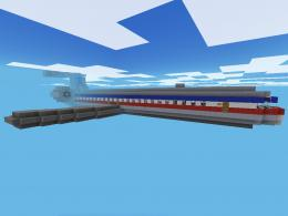 Minecraft American Airlines MD 80 by Vanillaman29 1629
