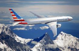 american airlines new look, boeing 777 300 american airlines, american 1384