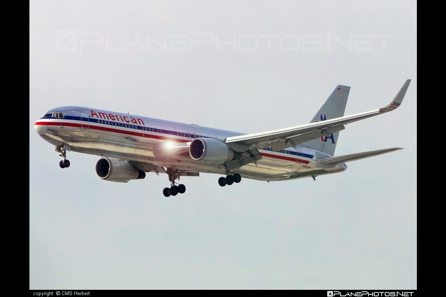 767 300 N382an Operated By American Airlines Taken Cms Picture #10611 1900