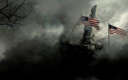 Fallout 3 Apple Mac Desktop Wallpapers HD American Flag Mac Background 462