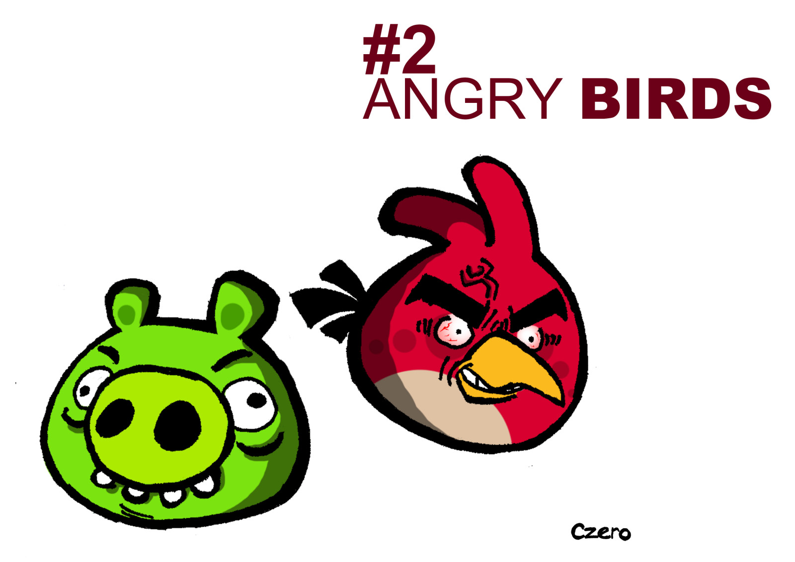 Angry Birds CZEROified 1024