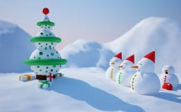 animated christmas hd wallpapers cool widescreen desktop pictures 1875