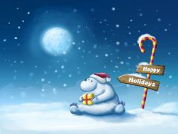 animated christmas high definition wallpapers beautiful widescreen 811