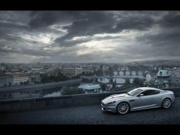 on road wallpaper aston martin db9 on road wallpaper aston martin db9 1542