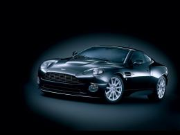Aston Martin Vanquish Black Wallpaper 621