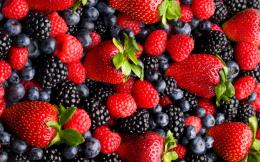 Berries blueberry sweet food fruit dessert HD Wallpaper 1234