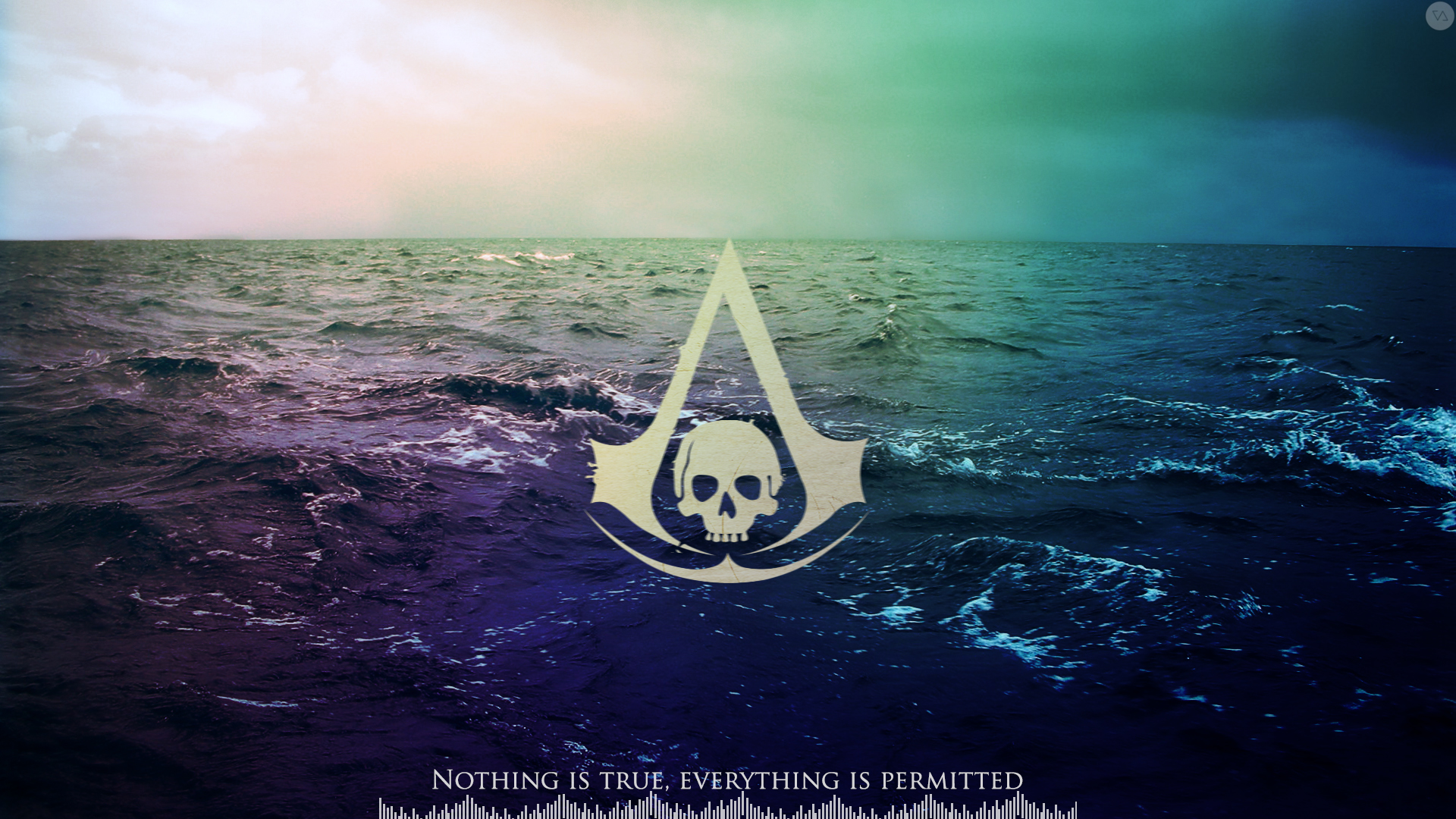 11 Backwallpapers Forassassins Creed Black Flag Logo Wallpaper 206