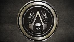 Assassins Creed Black Flag logo hd wallpaper background 1155