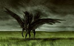 Dark Fantasy Magic Horse HD Wallpaper 1886