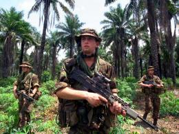 Group of British Army in Jungle Wallpapers for desktop 600
