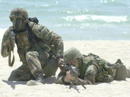 Beach SecurityWar Wallpaper Image featuring Army 1740