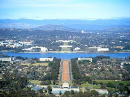 Bird\'s Eye View of Canberra 1921