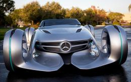 Mercedes Silver Arrow Concept Car HD Wallpaper 1455
