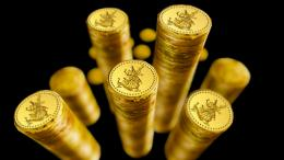 gold coins widescreen wallpaper chocolate gold coins high definition 1851
