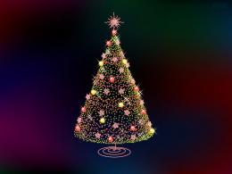 Christmas Wallpaper: Christmas Tree 1256