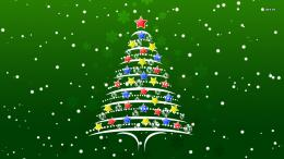 Christmas tree wallpaper 1131