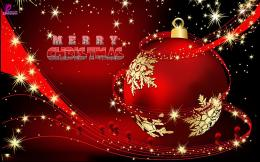 Beautiful Christmas Wishes Wallpaper In HD Christmas Ball D 941