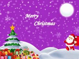 Latest Merry Christmas Greetings HD Wallpapers 561
