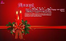 Christmas Candles Christmas Greetings HD Wallpaper 1058