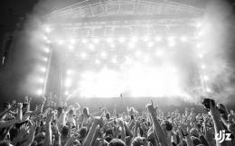 Rave, Concert, BW, Lights, DJ, Crowd HD desktop background 1716