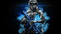 Battlefield Cool Wallpaper with 1366x768 Resolution 1191