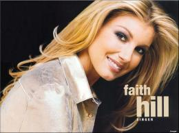 The country singer Faith Hill 1530