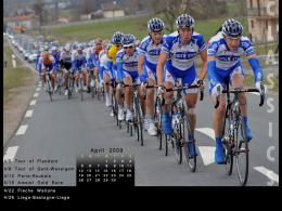 Cycling Desktop Wallpaper Calender: April 2009 189