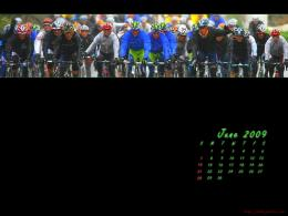 Cycling Desktop Wallpaper Calendar: June 2009 233